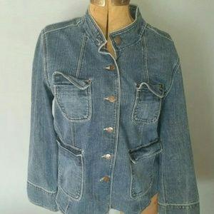 Jean Jacket, Size 16